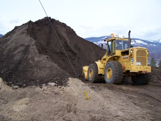 Composted biosolids used as soil amendment
